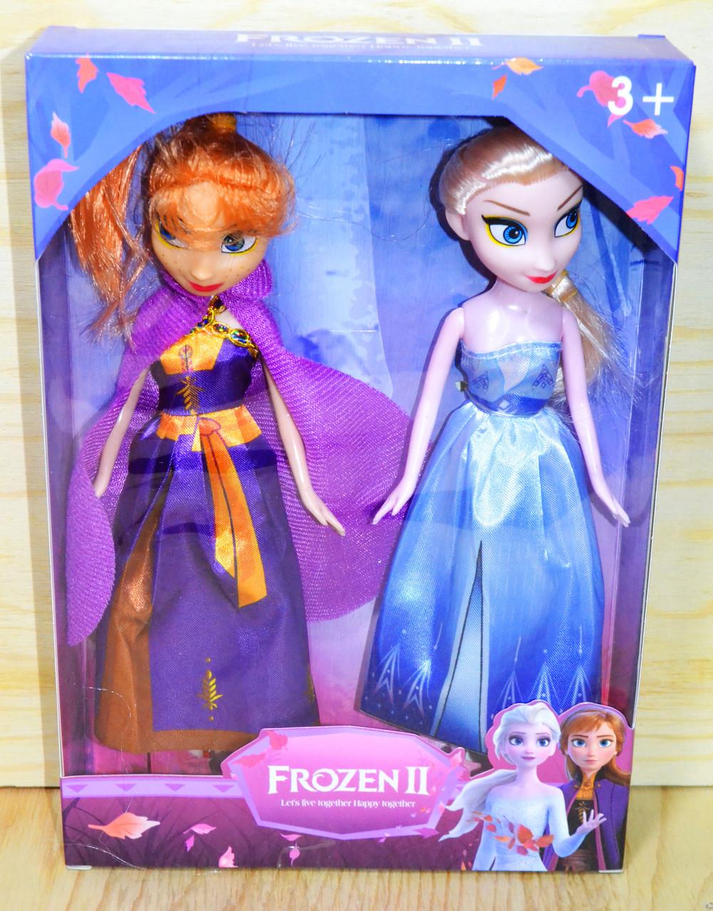 TT30 Frozen2 кукла Анна и Эльза, 28*16см