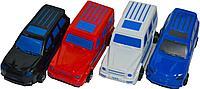 399-364 Крутые машинки в пакете(гелен,хамер и лэндкрузер) 27*16см