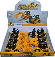 210-10 Строительная техника Truck Fleet Builder 4 вида из 8 штук цена за 1шт 17*10, фото 1