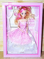Немного помятая!!! ZR-595 Кукла пышное платья Beautiful Girl 2вида 33*23см