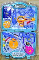 969-46/969-47 Doctor medical play set набор в открытом чемодане, 37*21см