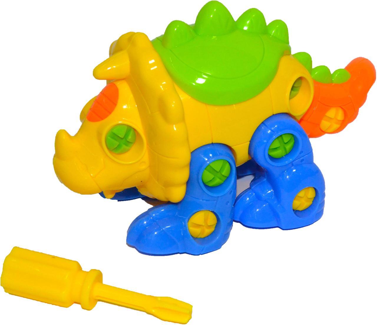 88726 Динозавр разбирайка конструктор в пакете 25*20см