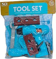 """6660AB-1 """"Tool set"""" инструменты (электродрель+12 аксесс.)"""