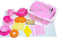 """NF294-51 Корзина с посудой и продуктами """"Kitchen set Basket"""""""