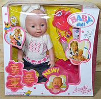 8001-557 Baby doll пупс с горшком,9 аксессуаров,9 функций (отправ. в разобран.виде) 37*37см