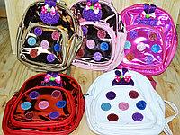 D17-019 Рюкзак для девочек Круглешки Бантик 24*22
