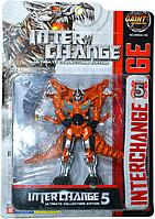 Помятая упаковка!! 5533-139 Трансформеры на картонке Interchange 5 37*26см