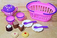 126 Набор чаепитие в корзинке Dream Basket 24*10см
