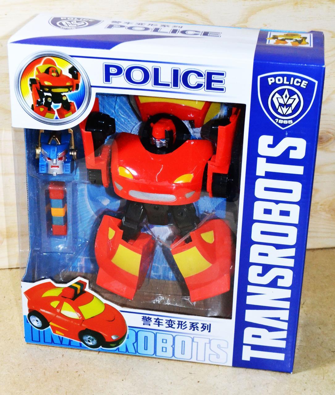 8866 Транформер полицейский Transrobot 28*25см