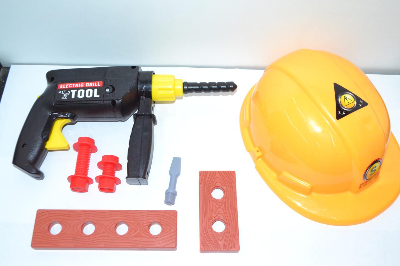 TP396 Набор строителя Craftsman depot с каской в сетке 22*18см