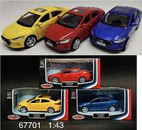 67701 Машина Hyundai 14*7см
