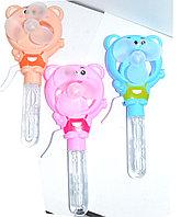 922-601 Мыльные пузыри Bubble fun с вентилятором (мишка) из 12 шт 21*9см