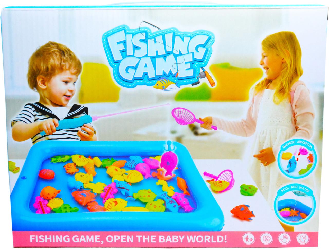 3053 Рыбалка с бассейном Fishing game средний 26*20см