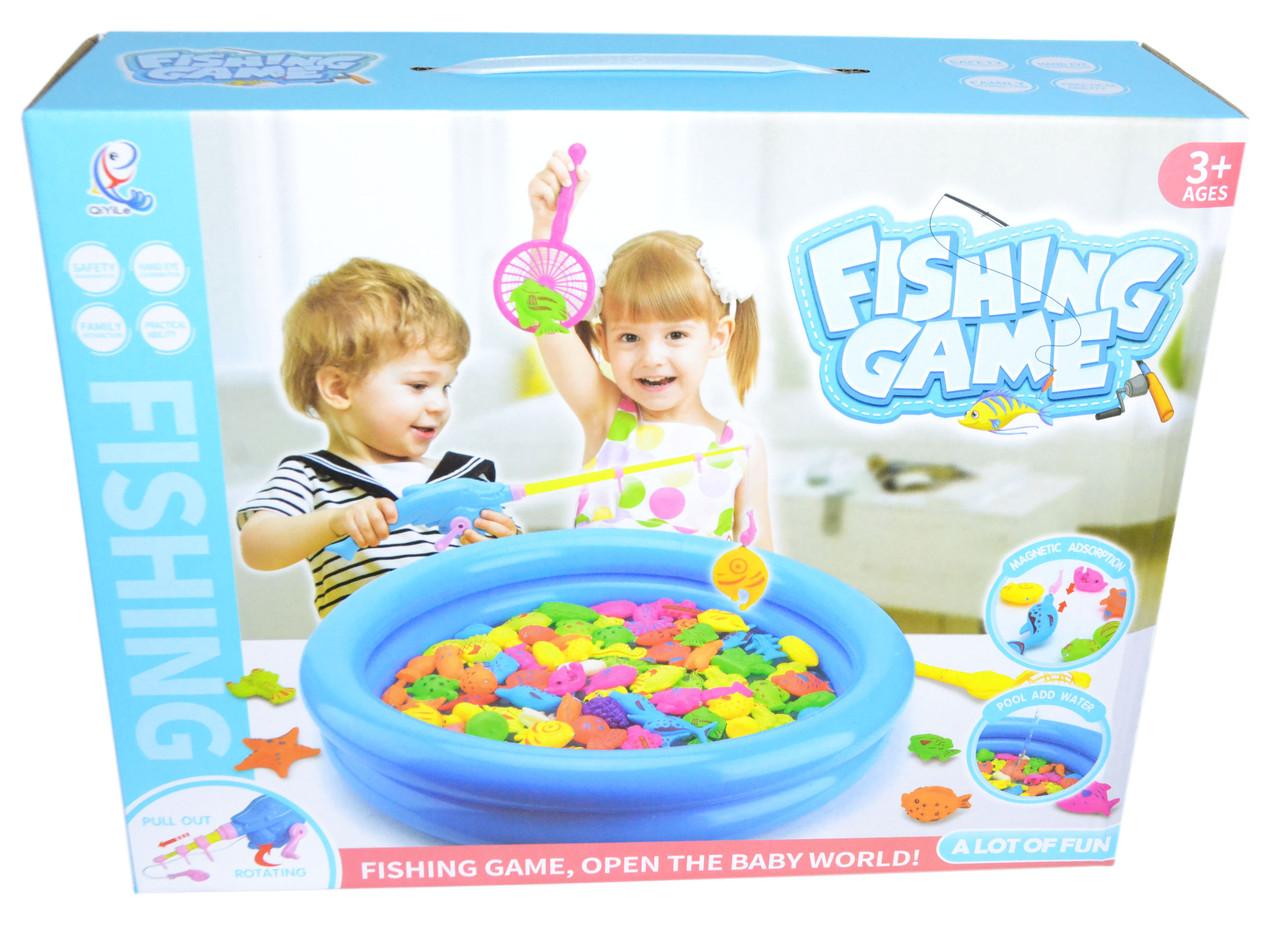3051 Рыбалка с бассейном Fishing Game большой 33*27см