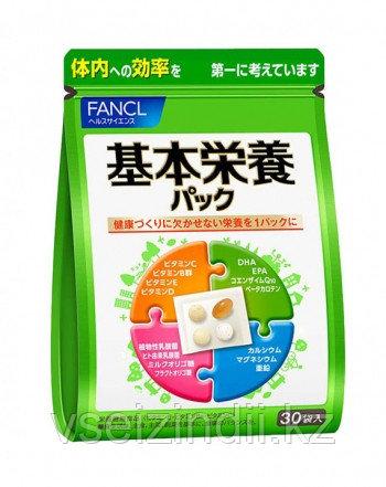 Комплекс витаминов и минералов Basic Nutrition Pack Fancl, на 30 дней, базовые витамины