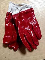 Перчатки обливные красные (масляные)