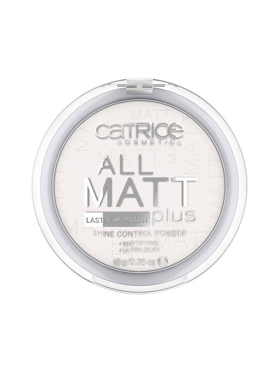 CATRICE. / Пудра Компактная All Matt Plus Shine Control Powder 001 прозрачный