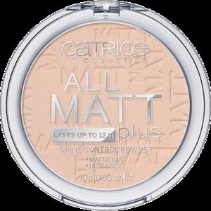 CATRICE. / Пудра Компактная All Matt Plus Shine Control Powder 010 TRANSPARENT