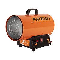 PATRIOT Калорифер газовый PATRIOT GS 12, 12 кВт, 320 мᵌ/ч, пьезо поджиг, редуктор, шланг.