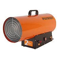 PATRIOT Калорифер газовый PATRIOT GS 50, 50 кВт, 872 мᵌ/ч, пьезо поджиг, редуктор, шланг.