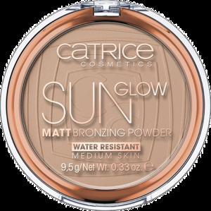 Бронзирующая пудра Sun Glow Matt Bronzing Powder 030 MEDIUM BRONZE