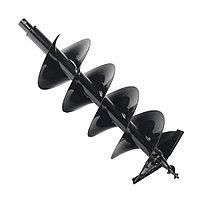PATRIOT Шнек двухзаходный D 250B для грунта к бензобуру со сменными ножами, диаметр 250мм длина 800мм