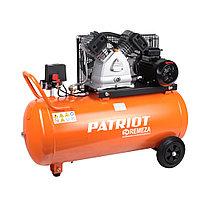 PATRIOT Компрессор PATRIOT REMEZA СБ 4/С-100 LB 30 - 420 л/мин, 10 Атм, 380 В, 2.2 кВт, Ресивер: 100 л, Выход: