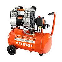 PATRIOT Компрессор Patriot поршневой безмасляный WO 24-220 , 200 л/мин, 8 бар, 1250 Вт, 24 л, быстросъемный