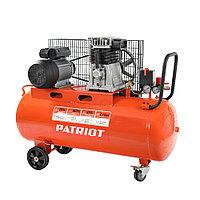 PATRIOT Компрессор Patriot поршневой ременной PTR 100-440I, 440 л/мин, 10 бар, 2200 Вт, 100 л, быстросъемный
