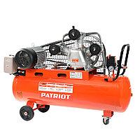 PATRIOT Компрессор Patriot поршневой ременной PTR 100-670, 670 л/мин, 10 бар, 3000 Вт, 100 л, быстросъемный