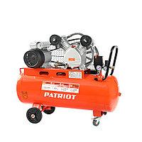 PATRIOT Компрессор Patriot поршневой ременной PTR 80-450A, 450 л/мин, 10 бар, 2200 Вт, 80 л, быстросъемный