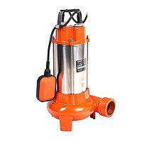 PATRIOT Насос дренажный PATRIOT FQ1200N, д/грязной воды, корпус - чугун, нож 1200 Вт, 18000 л/час.