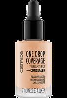 Консилер catrice  One Drop Coverage Weightless Concealer тон 020 NUDE BEIGE