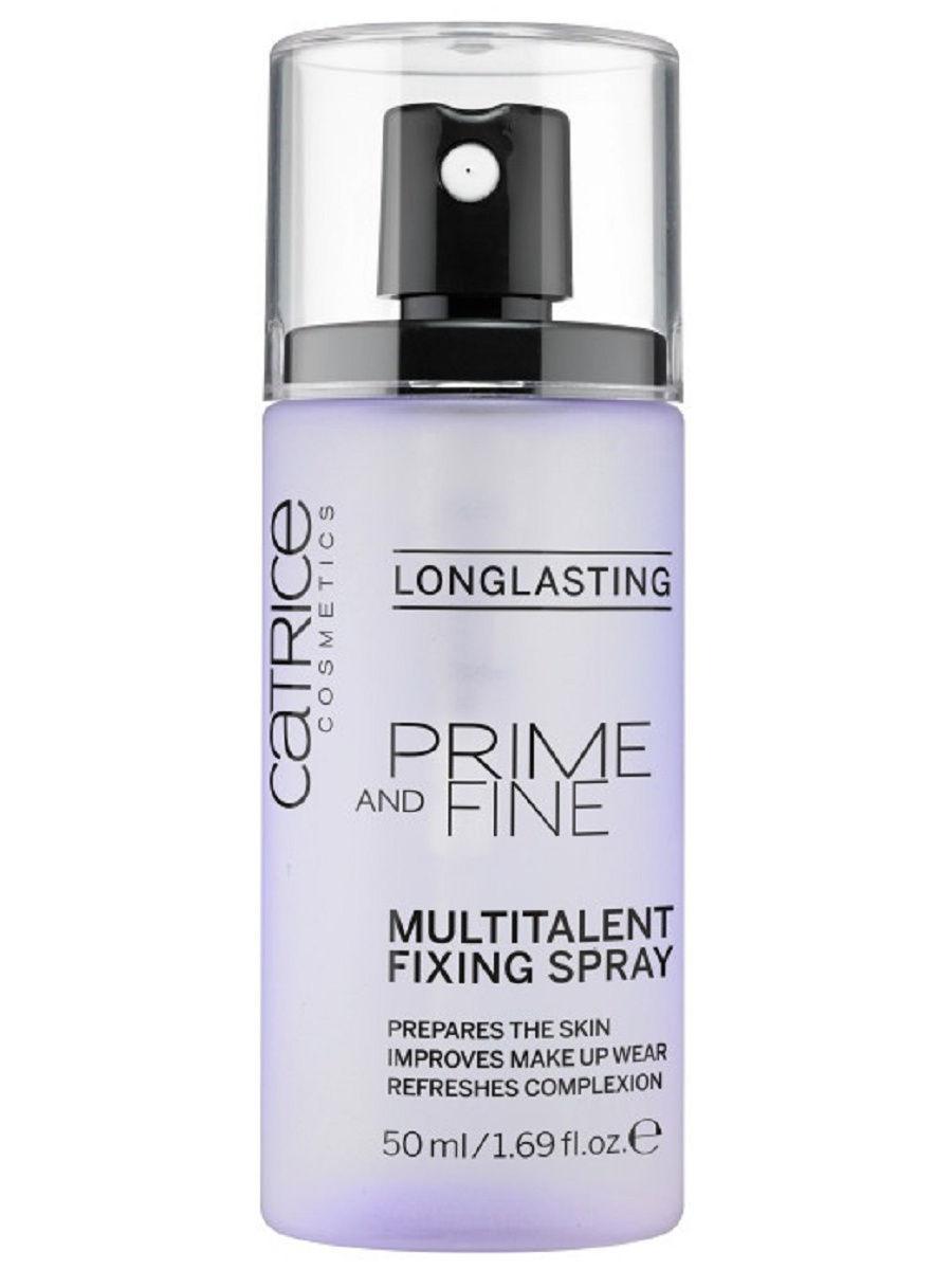 CATRICE. / Фиксирующий спрей для макияжа Prime And Fine Multitalent Fixing Spray