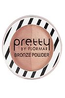 Flormar Pudra - Pretty By Flormar Bronze Powder Peach Bronze 20