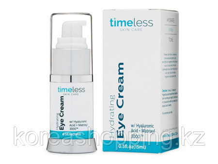 Увлажняющий крем для кожи вокруг глаз, TIMELESS, HYDRATING EYE CREAM,15 мл - фото 2