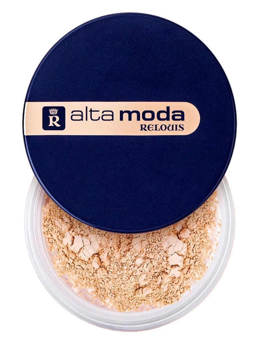 RELOUIS / Пудра порошкообразная Alta Moda, тон 03 Цвет: темно-бежевый