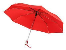 Зонт-складной, красный