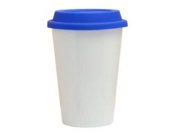 Керамическая кружка, синяя