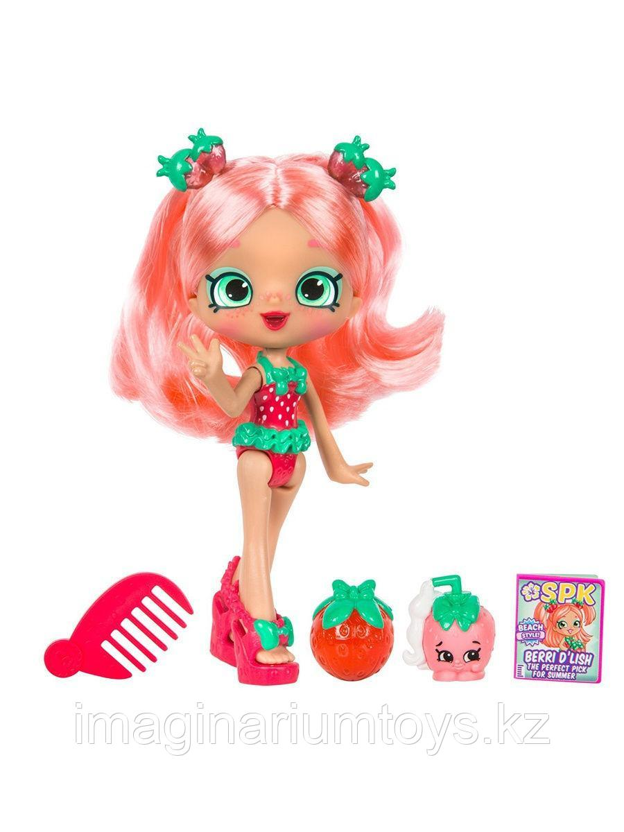 Шопкинс кукла Shoppies Клубничка Берри