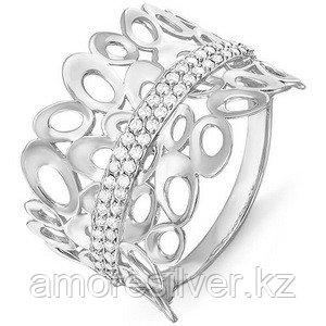 Кольцо TEOSA серебро с родием, фианит, фантазия T-с114127