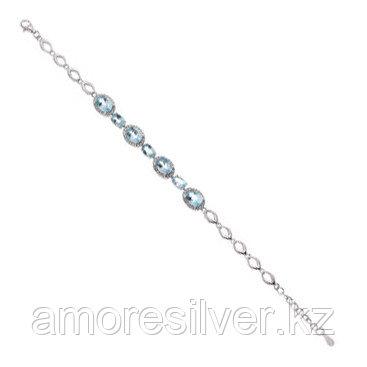 Браслет TEOSA серебро с родием, топаз фианит, дорожка B-DRGR00016-T