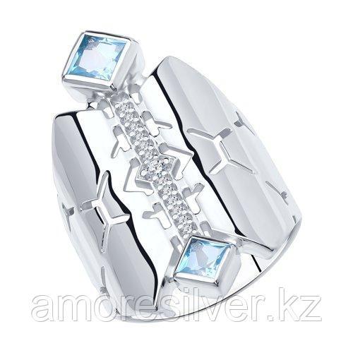 Кольцо Diamant (SOKOLOV) , топаз фианит  94-310-00799-1