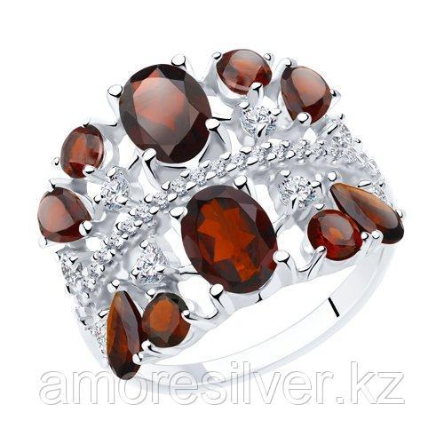 Кольцо Diamant (SOKOLOV) , гранат фианит  94-310-00466-2