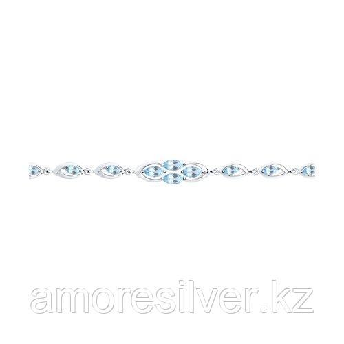 Браслет Diamant (SOKOLOV) , топаз 94-350-00657-1