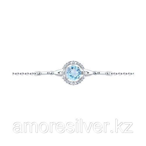 Браслет Diamant (SOKOLOV) , топаз фианит  94-350-00679-1