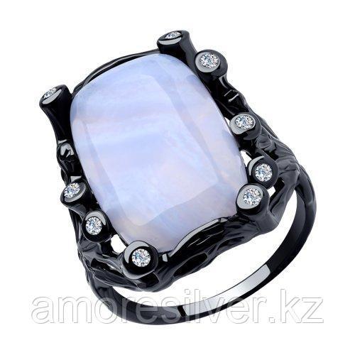 Кольцо Diamant (SOKOLOV) , агат синт.  фианит  94-310-00518-3