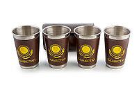 Футляр со стаканами 4 шт