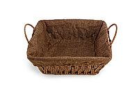 Хлебница плетеная квадратная