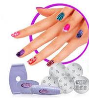 Набор для декорации ногтей «ФЭШЕН» (Nail Art Stamping Kit)